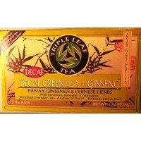 Ginsengs Tonic Herbal Decaf Green Tea