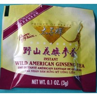 Wild American Ginseng Instant Granule Tea